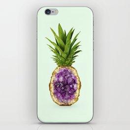PINEAPPLE QUARTZ iPhone Skin