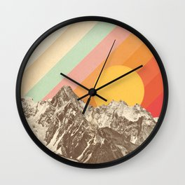 Mountainscape 1 Wall Clock