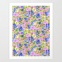 Wild & Free Garden Art Print
