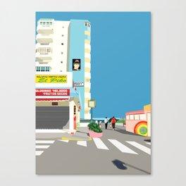 La Manga Beach Canvas Print