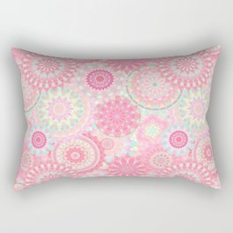 Mandala 206 (Floral) Rectangular Pillow