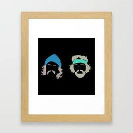 cheech and chong Framed Art Print