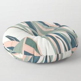 Colorful Plant Floor Pillow
