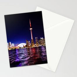 The city of lights Stationery Cards