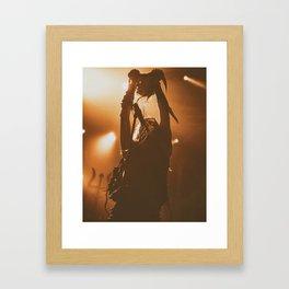 Watain live show Framed Art Print