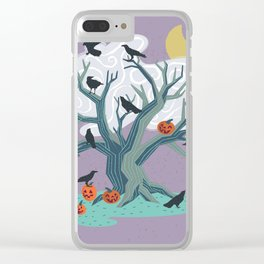 Halloween Eve Clear iPhone Case