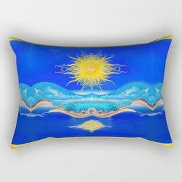 Sacred Sun Rectangular Pillow