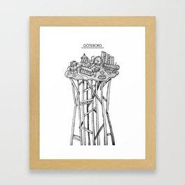 Göteborg Framed Art Print