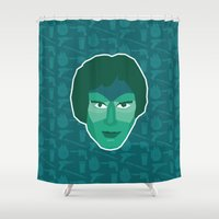 han solo Shower Curtains featuring Han Solo by Kuki