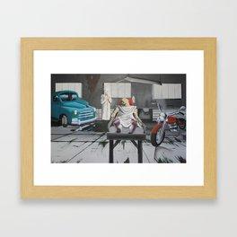 Metal Injection Framed Art Print