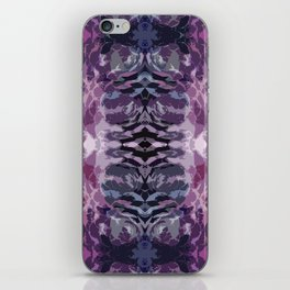 colorful vibrations iPhone Skin