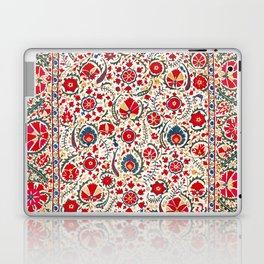 Bokhara  Antique Uzbek Suzani Embroidery Print Laptop & iPad Skin