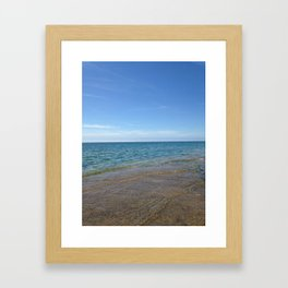 lake ontario Framed Art Print