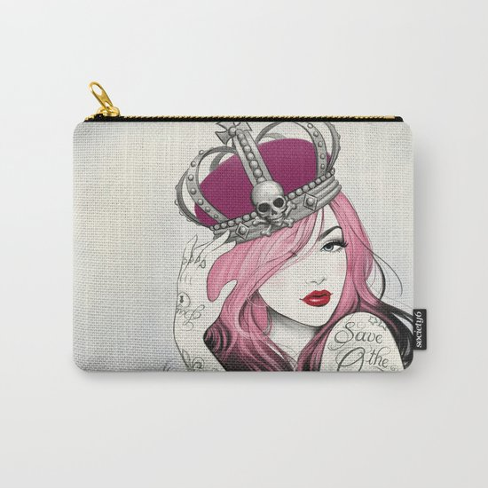 Save The Queen Carry-All Pouch