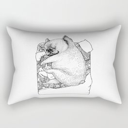 I'm Tired, You're a Lonely Frenchie Rectangular Pillow