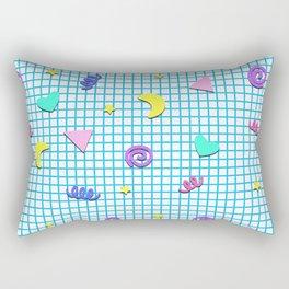 Confetti Grid Rectangular Pillow