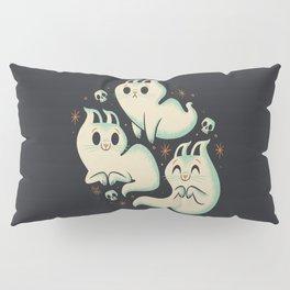 Ghost Cats Pillow Sham