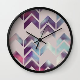 Chevron Dream Wall Clock