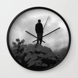 Heads Up Wall Clock