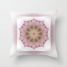 Tender Mandala Throw Pillow