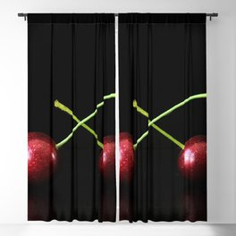 Two Cherries Blackout Curtain