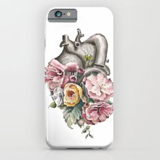 Floral Anatomy Heart Slim Case iPhone 6