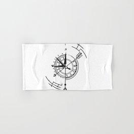 Arrow Compas Time Hand & Bath Towel