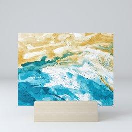 Dynamics Of Ocean 2 Mini Art Print