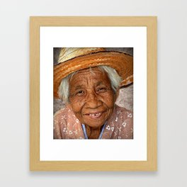 84 Years Young. Framed Art Print