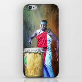 Let There Be Drums iPhone Skin