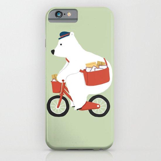 Polar bear postal express iPhone & iPod Case
