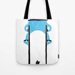Mr Blue Boy Tote Bag