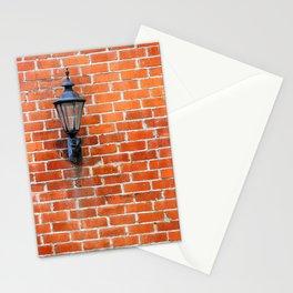 Brick Wall Light Stationery Cards