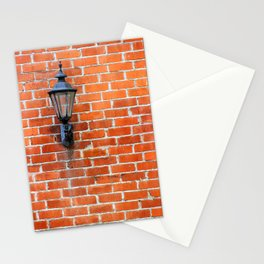 Brick Wall Light Stationery Cards