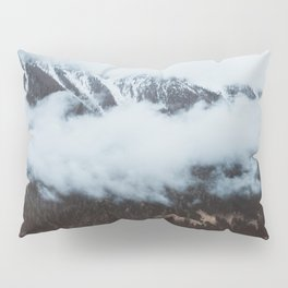 On a cloudy day - Landscape and Nature Photography Pillow Sham