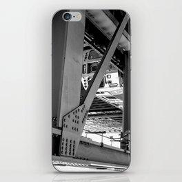 Look Above B&W iPhone Skin