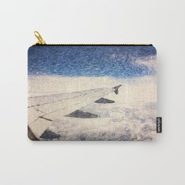 Flying over the clouds Carry-All Pouch