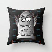 fault Throw Pillows featuring Fault 45 No.1 by Face Leakage