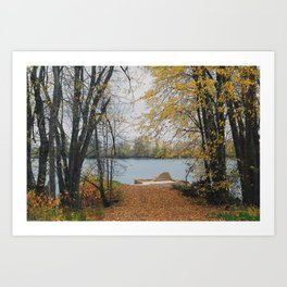 Lower Gagetown. Art Print
