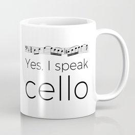 I speak cello Coffee Mug