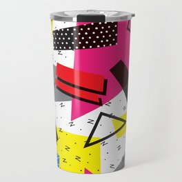 Retro 80s be that Travel Mug