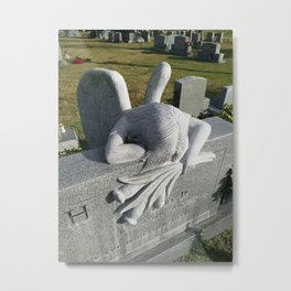 Palm Royal Cemetery, Naples, FL, USA, HistoryLived.com Metal Print