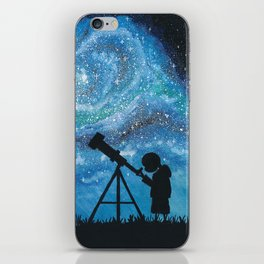 Observing the Universe iPhone Skin