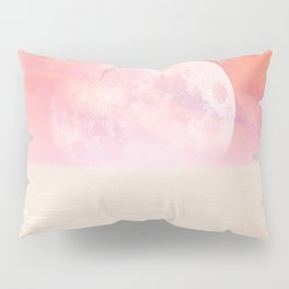 Desert Moon in Full Pink Pillow Sham