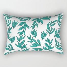 Wild Leaves / Clutter Pattern Rectangular Pillow