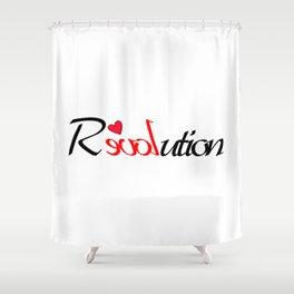 Rloveution Shower Curtain