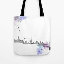 Travel, Space and Architecture  Tote Bag