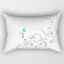 kiss Rectangular Pillow