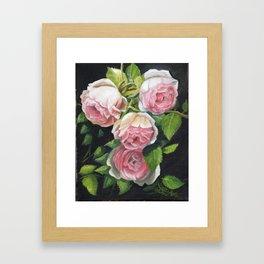 EDEN ROSE Framed Art Print