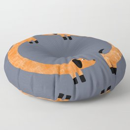 Sausage Dogs Floor Pillow